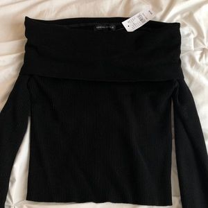 NWT Kendall & Kylie Off The Shoulder Top